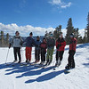 The 2014 UNAVCO Science Workshop ski day. (Photo/Linda Rowan, UNAVCO)