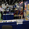 EarthScope and IRIS booths at the 2014 GSA in Vancouver, B.C. (Photo/Beth Bartel, UNAVCO)