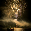 Fourth of July Weekend Fireworks on Detroit Lake, Oregon -- © 2014 Gary N. Miller, Sisters Country Photography