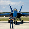 Blue Angel and Crew Chief