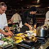 Executive Chef Michael Pivoney Mid America Club Chicago and Crew Metal Chef Competition House of Blues Chicago