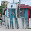 Tourism police outpost in Caye Caulker, Belize