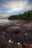 Stained Shores III - Five Mile Point (Hiawatha National Forest - Upper Michigan)
