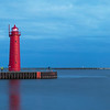 Muskegon Lighthouse and Pier