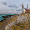 Point Betsie Lighthouse in Early Winter