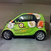 "Smart Car wrap for How Do You Roll in Gainsville, FL  <a href=""http://www.skinzwraps.com"">http://www.skinzwraps.com</a>"