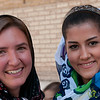 Audrey and Young Iranian Woman - Shiraz, Iran