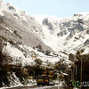 Snow Covered Mountains on Way to Astara, Iran