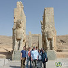 G Adventures Group at Persepolis, Iran