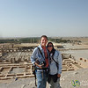 Audrey and Dan at Persepolis - Iran