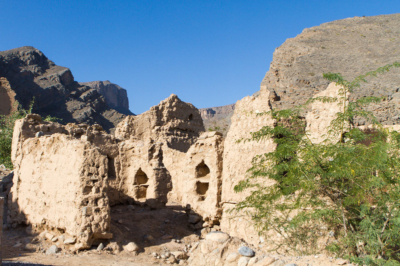 Abandoned village of Tanuf, Ad Dakhiliyah, Oman