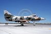 A-4USN-VA-127 0029 A taxing US Navy Douglas A-4F Skyhawk 154172 VA-127 DESERT BOGEYS NAS Fallon 8-1988 military airplane picture by Michael Grove, Sr