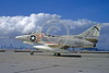 A-4USN-VA-95 0001 A static US Navy Douglas A-4C Skyhawk attack jet 147798 VA-95 GREEN LIZARDS USS John F Kennedy NAS Alameda 2-1969 military airplane picture by Douglas Olson
