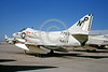 A-4USN-VA-216 0003 A static US Navy Douglas A-4C Skyhawk attack jet 147765 VA-216 BLACK DIAMONDS USS Hancock NAS Lemoore 9-1965 military airplane picture by Doug Olson