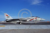 F-14USN-VF-114 0027 A taxing Grumman F-14 Tomcat USN VF-114 AARDVARKS USS Enterprise NAS Fallon 11-1980 military airplane picture by Michael Grove, Sr