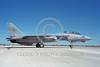 F-14USN-VF-201 0007 A taxing Grumman F-14 Tomcat USN 158627 VF-201 HUNTERS NAS Fallon 8-1988, by Michael Grove, Sr
