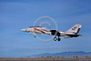 F-14USN-VF-114 0022 A landing Grumman F-14 Tomcat USN VF-114 AARDVARKS with Sparrow missile NAS Fallon 11-1980 military airplane picture by Michael Grove, Sr
