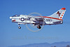 A-7USN-VA-204 0002 A landing Vought A-7B Corsair II USN attack jet 154491 VA-204 RIVER RATTLERS AF code NAS Fallon 7-1981 military airplane picture by Michael Grove, Sr
