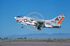 A-7USN-VA-304 0002 A landing Vought A-7B Corsair II USN attack jet 154479 VA-304 FIREBIRDS NAS Fallon military airplane picture by Michael Grove, Sr