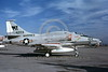 A-4USMC-VMA-134 0017 A static Douglas A-4F Skyhawk USMC 154203 VMA-134 SMOKE 8-1982 military airplane picture by Michael Grove, Sr
