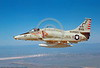 FLY-A-4USMC 00002 A flying USMC Douglas A-4M Skyhawk 158149 VMA-211 AVENGERS 3-1982 military airplane picture by Peter J Mancus