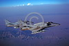 A-4USMC-VMA-211 0006 A USMC Douglas A-4M Skyhawk attack jet 158419 VMA-211 AVENGERS flying near MCAS Yuma 7-1983 military airplane picture by Peter J Mancus