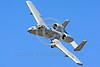 A-10USAF 00260 A flying Fairchild Republic A-10 Thunderbolt II Warthog USAF attack jet military airplane picture by Peter J Mancus