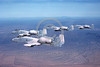 A-10USAF 00106 Flying Fairchild USAF A-10 Thunderbolt II USAF attack jets DM code 11-1981 military airplane picture by Robert Hill