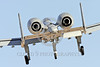 A-10USAF 00392 A landing Fairchild A-10 Thunderbolt II USAF attack jet military airplane picture by Peter J Mancus