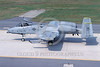 A-10USAF 00275 A taxing USAF Fairchild A-10 Thunderbolt II USAF attack jet 80347 OS code 11-2001 military airplane picture by Peter R Foster