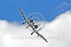 A-10USAF 00396 A landing Fairchild A-10 Thunderbolt II USAF attack jet military airplane picture by Peter J Mancus