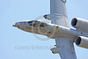 A-10USAF 00264 A flying Fairchild Republic A-10 Thunderbolt II USAF attack jet military airplane picture by Peter J Mancus