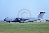 C-5USAF 0055 A taxing low viz gray Lockheed C-5 Galaxy USAF 70031 Dover military airplane picture by Raymond Bousselaar