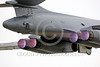 AB-B-1USAF 00069 Close up of all four jet engines of a USAF Rockwell B-1B Lancer strategic jet bomber in full afterburner during take-off military airplane picture by Peter J Mancus tif