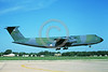C-5USAF 0044 A landing lizard color scheme Lockheed C-5 Galaxy USAF 70168 6-1987 military airplane picture by Brian C Rogers