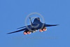 AB-B-1USAF 00084 A flying USAF Rockwell B-1B Lancer strategic jet bomber zooms up in full afterburner military airplane picture by Peter J Mancus tif