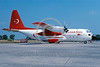 EE-C-130Forg 00003 A static colorful Lockheed C-130 Hercules Turkish Air Force TURKISH STARS 7-2001 military airplane picture via African Aviation Slide Service