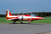 EE-F-104Forg 00001 A static colorful Lockheed F-104 Starfighter German Air Force jet fighter RED BARON 5-1982 military airplane picture by Wilfried Zetsche
