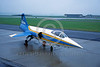 EE-F-104Forg 00024 A static colorful Lockheed F-104 Starfighter German Air Force 11-1983 military airplane picture via African Aviation Slide Service