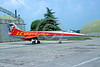 EE-F-104Forg 00009 A static colorful Lockheed F-104 Starfighter Italian Air Force military airplane picture by Aviation Slide Service