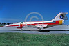 EE-F-104Forg 00003 A static colorful Lockheed F-104 Starfighter German Air Force jet figher 3-1989 military airplane picture by Wilfried Zetsche