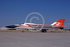 EE-F-111USAF A taxing colorful General Dynamics F-111 Aardvark USAF fighter-bomber McClellan AFB 7-1984 military airplane picture by Peter B Lewis