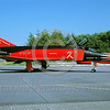 EE-F-4Forg 00017 A static red McDonnell Douglas F-4 Phantom II German Air Force jet fighter via African Aviation Slide Service