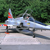 EE-F-5Forg 00004 A static colorful Northrop F-5E Freedom Fighter Norwegian Air Force  4-1992 military airplane picture by Marinus Tabak