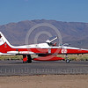 EE-F-5Forg 00003 A taxing colorful Northrop F-5E Freedom Fighter Canadian Armed Forces 116721 jet fighter with large moose head at Reno military airplane picture by Peter B Lewis
