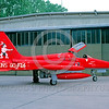 EE-F-5Forg 00005 A static red Northrop F-5E Freedom Fighter Dutch Air Force jet fighter K-3062 REDSKINS 11-1990 military airplane picture by Wilfreid Zetsche