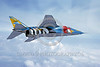 EE-Jaguar 00004 A flying colorful SPECAT Jaguar Indian Air Force attach jet 7-2001 military airplane picture via African Aviation Slide Service