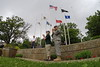 Memorial Day - Naperville, Illinois - May 25, 2015 - Wreath Laying Ceremony at Veterans Park Memorial