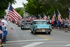 Memorial Day - Naperville, Illinois - May 25, 2015 - The Memorial Day Parade - A rainy but successful parade - the crowd was tremendous and was not daunted by the rain!