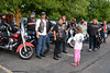 Rockin For The Troops - 2014 - Harley Riders descend on Rockin!